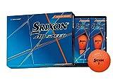 ダンロップ(DUNLOP) ゴルフボール スリクソン AD SPEED 2020年モデル 1ダース(12個入り) パッションオレンジ