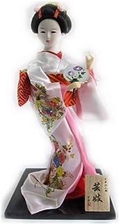 二代目舞妓 日本人形 芸妓 12インチ(30cm) 日本のお土産 外国人へのプレセント ピンク