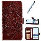 Robinsoni Custodia Compatibile con iPhone XR Cover Libretto iPhone XR Cover Portafoglio Pe...