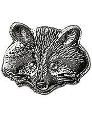 Spilla da bavero di procione garantita di qualità artigianale