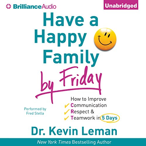 Have a Happy Family by Friday audiobook cover art