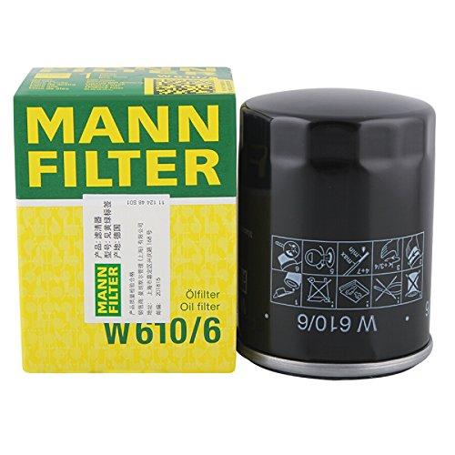 MANN OIL FILTER Ölfilter W610/6