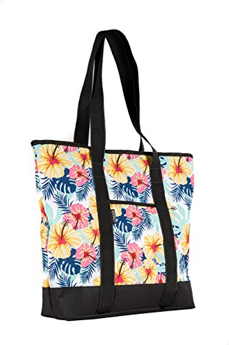 Everest Fashion Shopping Tote, Tropical, One Size