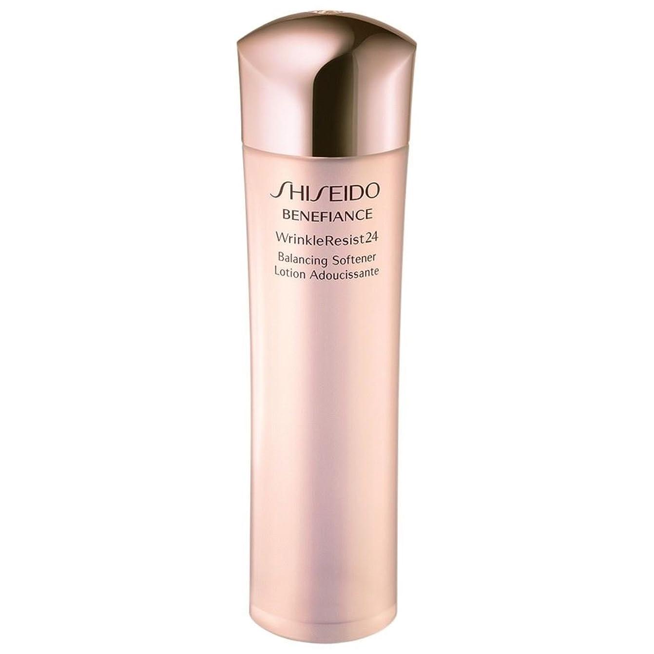 大きさ大きさ倍増[Shiseido] 資生堂ベネフィアンスは、柔軟剤のバランスをとるWrinkleresist24、150ミリリットル - Shiseido Benefiance Wrinkleresist24 Balancing Softener, 150ml [並行輸入品]
