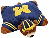 Fabrique Innovations NCAA Pillow Pet, Michigan Wolverines