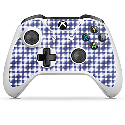 DeinDesign Skin kompatibel mit Microsoft Xbox One S Aufkleber Folie Sticker Karo Picknick Oktoberfest