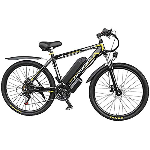 Purchase HAOYF Electric Bicycle Bike 26 Alloy Frame with 350W Powerful Motor 48V 10/14/17Ah Removab...