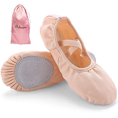 Palazen Zapato de Ballet para Niña y Mujer Zapatillas de Ballet Transpirables Profesionales