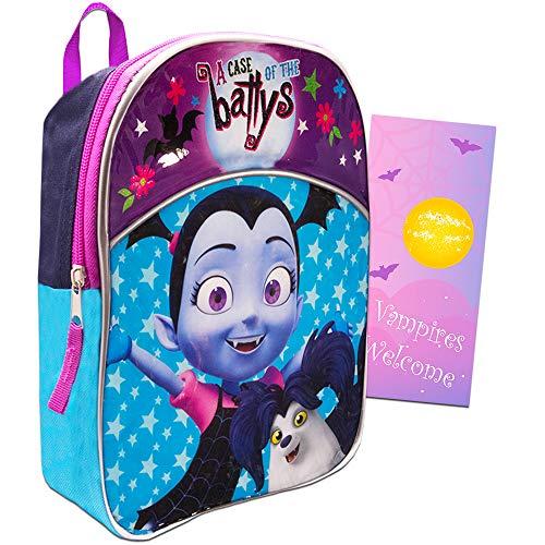 Disney Vampirina Mochila infantil para niños de 11 pulgadas, mini mochila (suministros escolares de Vampirina)