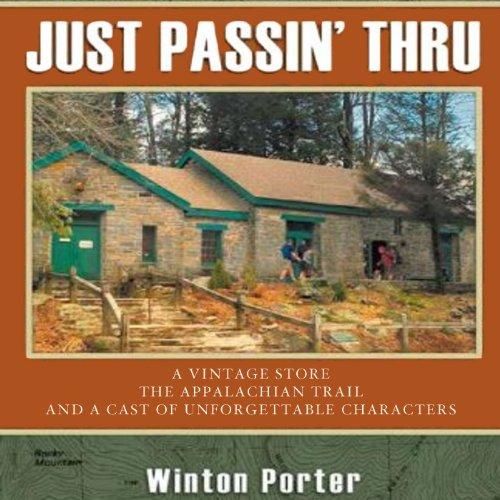 Just Passin' Thru audiobook cover art