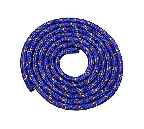 Vinex Seilspringen - Springseil 3 Meter - schönes Muster - blau