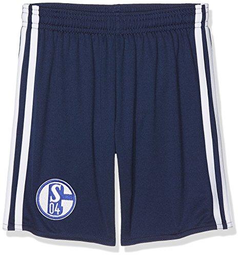 adidas Jungen Schalke 04 Short, Dark Blue/White, 152