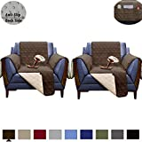 RBSC Home Sofa Slipcovers Couch Covers Recliner Covers (2019 100% Waterproof Anti-Slip Environmental New Look Washable Proctetor for Pets, Baby, Dogs, Cats and Kids
