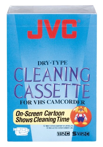 Best Buy! JVC TCC-3FU -Cleaning Cassette for VHS Camcorder