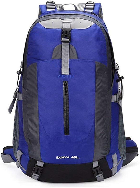 Pureed Wanderrucksack Leichte Sporttasche Leichter Und Tragbarer Wasserdichter Rucksack (Army Grün) (Farbe   Blau, Größe   One Größe) B07PLYJ5G5  Üppiges Design