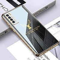 携帯電話ハードケース PC ソリッドカラーメッキ保護ケース (色 : Grey)
