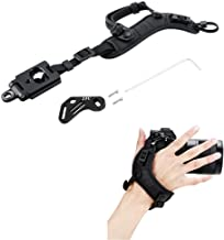 JJC Deluxe Mirrorless Camera Hand Grip Strap for Sony A7 III A7II A7 A7R IV A7R III A7RII A7R A7S II A9 A6600 A6500 A6400 A6300 A6100 A6000 Panasonic G7 G9 GH5 GH5S GH4 GX85 GX9 G85 G95 S1R S1 & More