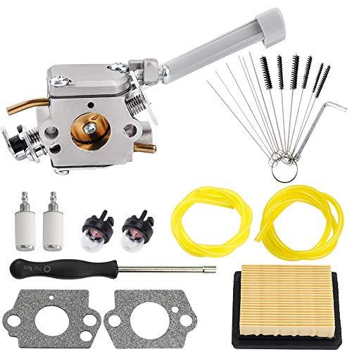 Kizut RY08420A Vergaser-Luftfilter kompatibel mit Ryobi Bp42 Vergaser 308054079 RY08420 Rucksack Gebläse mit 530069247 Repower Parts Kit für Motorrasenmäher Schneefräse