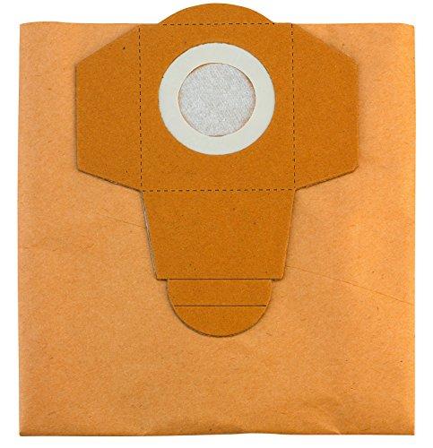 Original Einhell Schmutzfangsack 40 L (passend für Einhell Nass-Trockensauger, 5 Stück enthalten)