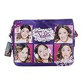 Disney Violetta Henkeltaschen Damen Umhängetaschen Freizeit Collage Rosa