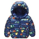 Niños Chaqueta con Capucha Abrigo de Invierno Ligeras Traje de Invierno