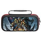 Transformers Housse de transport pour Nintendo Switch avec 20 supports de cartouche de jeu Noir
