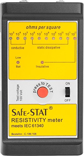 Safe-STAT Resistivity Meter, 9 V