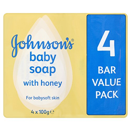 Johnson's Baby Seife mit Honig, 4 x 100 g