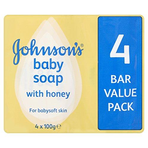 Johnson's Babyseife mit Honig, 4 x 100 g