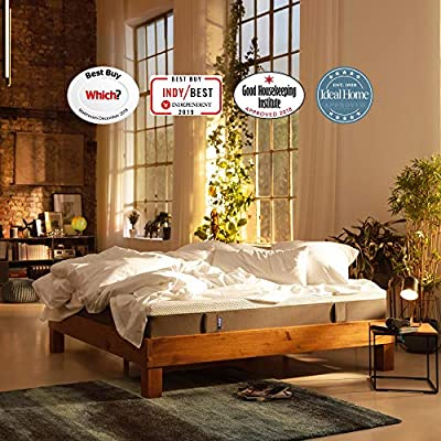 Emma Original Mattress 25 cm high Memory Foam Mattress Which? Best Buy 2018 and 2019 Mattress I Good Housekeeping Institute Approved I 100 Nights trial I 10 years warranty