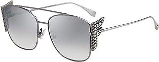 فيندي نظارة شمسية للنساء ، رمادي