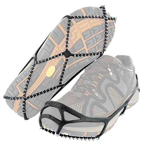 Yaktrax 8601 Walk Traction Cleats for Walking on Snow and Ice, Small