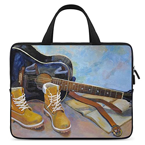 Guitar Boots Belt Book Laptop Sleeve case Sleeves Suitable for Asus/Dell/Lenovo/HP/Samsung/Sony/Toshiba/Apple 13inch
