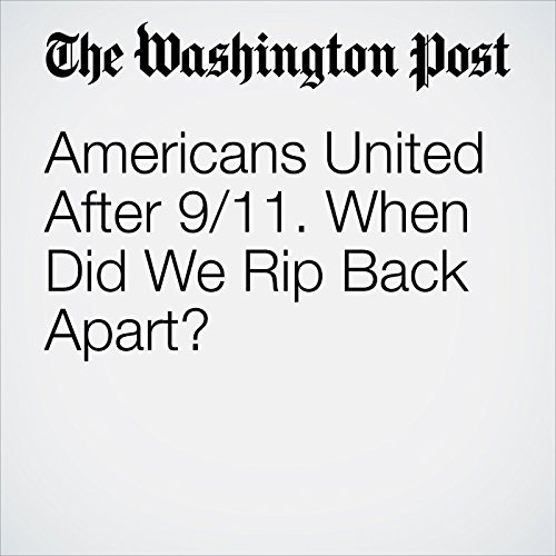 Americans United After 9/11. When Did We Rip Back Apart? copertina