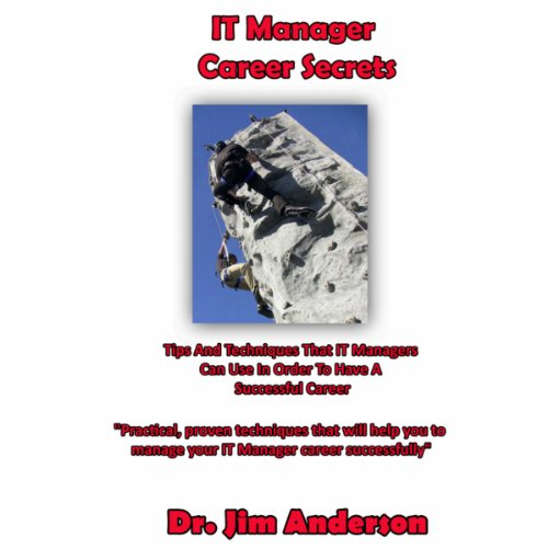 IT Manager Career Secrets: Tips and Techniques That IT Managers Can Use in Order to Have a Successful Career audiobook cover art