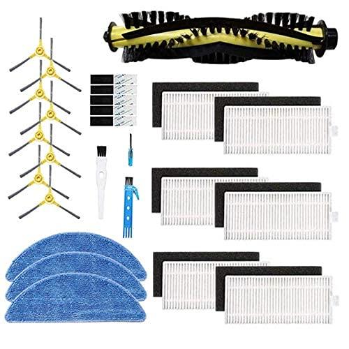 De Galen Kit de accesorios de limpieza para el hogar IKOHS Netbot S15 Robot Aspirador Filtro Principal Cepillo Partes de Repuesto (Color: B) Accesorios de vacío (Color: A)