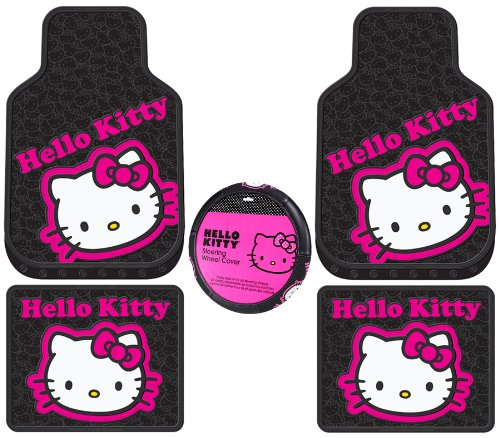 car cover set hello kitty - 1