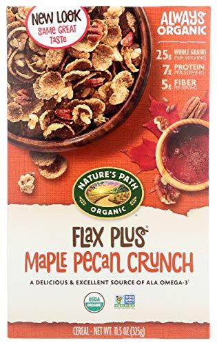 Natures Path Cereal Flax Plus Maple Pecan, 11.5 oz