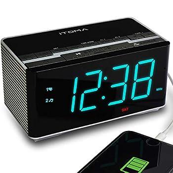 itoma alarm clock radio