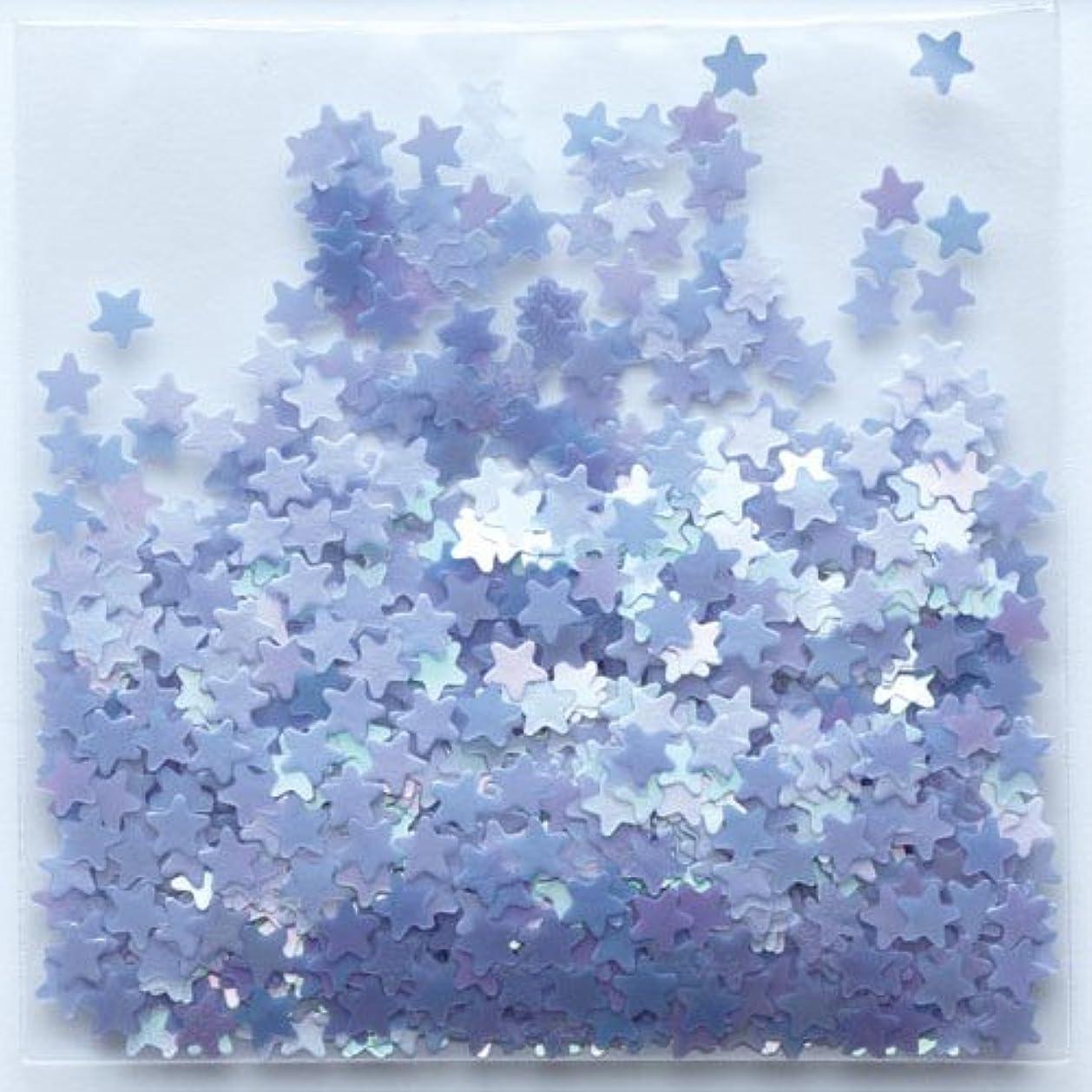 突撃絶対のサーフィンピカエース ネイル用パウダー 星パステル #174 ラベンダー 0.5g