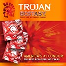 Trojan Ultra Ribbed Ecstasy Lubricated Condoms - 26 Count #2