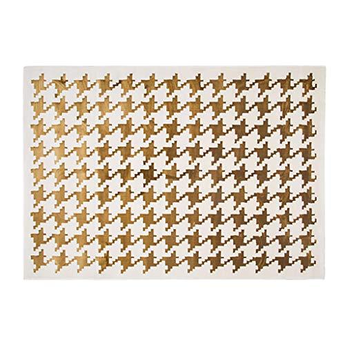HLD Classic duizend vogels gevlochten woonkamer slaapkamer kantoor aan huis art tapijt Tapijtpads (Color : B, Size : 160cm*230cm)