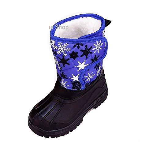 Magnus Kinder Schuhe Boots (143A) Winterschuhe Winterstiefel Stiefel Schuhe Blau, Größe 26