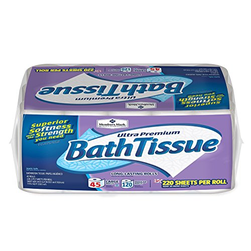 Member's Mark Bath Tissue Ultra Premium, 2 ply (220 Sheets, 45 Rolls)