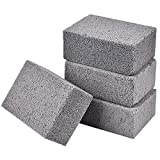 Neutral LImeiy 4Pack Grill Griddle Cleaning Brick Block,Ecological Grill Cleaning Brick, De-Scaling Cleaning Stone for Removing Stains BBQ Cleaning