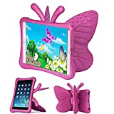 iPad Mini Case for Girls, Butterfly Shape Shock proof
