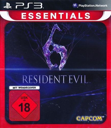 Resident Evil 6 PS-3 NEUAUFLAGE Essentials [Importación alemana]