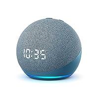 Presentamos el nuevo Echo Dot con reloj: nuestro altavoz inteligente con Alexa más vendido. El diseño elegante y compacto ofrece un sonido de calidad con voces claras y graves equilibrados. Ideal para la mesita de noche: consulta la hora, las alarmas...