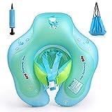 Flotador de Natación para Bebés, Exceed Piscina inflable para bebés flotador para niños flotante para niños, piscina flotante para la edad de 3-36 meses (S)