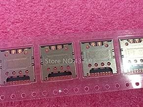Gimax SIM Card Slot Reader Holder Connector SIM Card Socket FOR LG G2 E980 E988 F320 F240 F240L F240S 10PCS/Lot